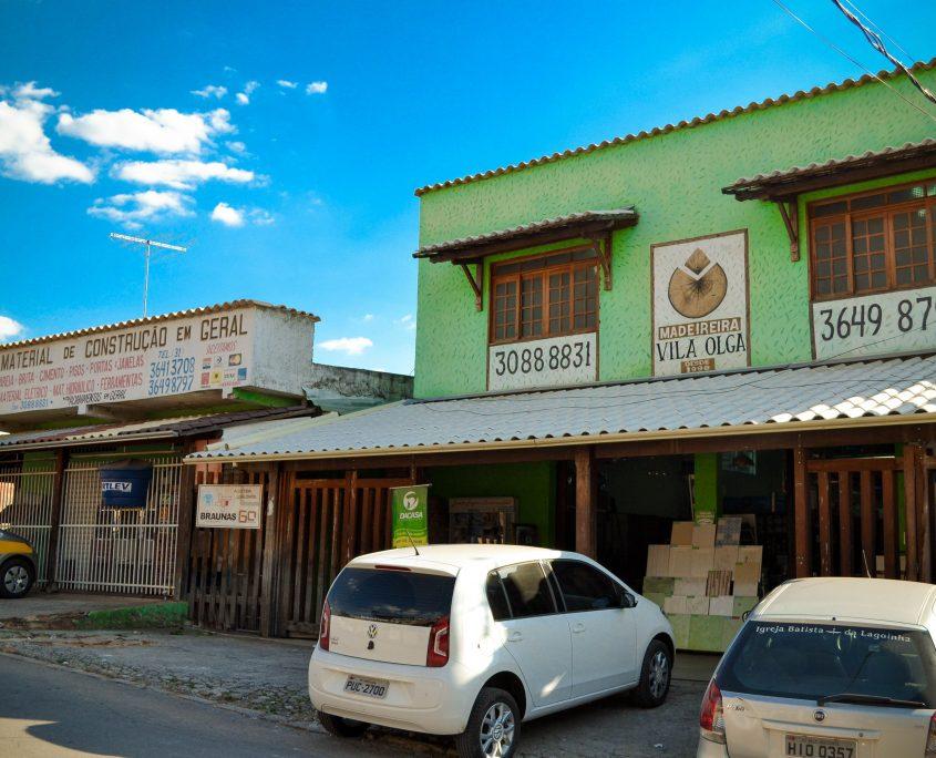 Loja Madeireira Vila Olga - Santa Luzia/MG